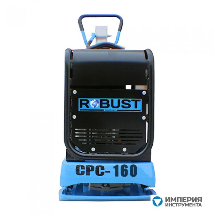 Виброплита реверсивная ROBUST CPC-160H GX200 160 кг