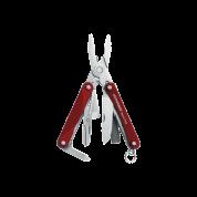 Мультитул Leatherman Squirt PS4, 9 функций, красный