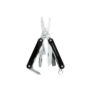 Мультитул Leatherman Squirt ES4, 9 функций, черный