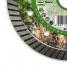 Круг алмазный специальный DIAM TURBO ГРАНИТ Extra Line 125х22,2