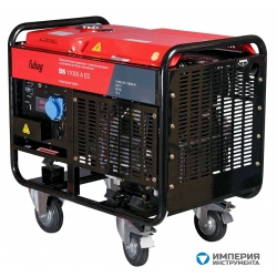 Электростанция бензиновая с электростартером и коннектором автоматики FUBAG BS 11000 DA ES