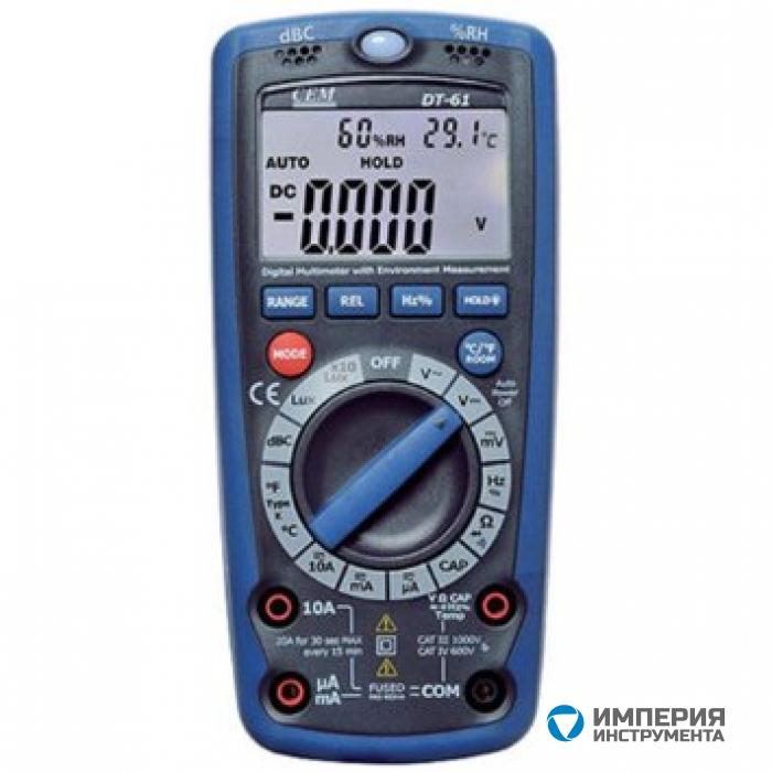 Мультиметр 6 в 1 CEM(СЕМ) DT-61