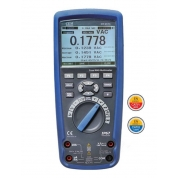 CEM(СЕМ) DT-9979 Профессиональный цифровой мультиметр в двойном пластиковом водонепроницаемом корпусе, степень защиты IP67, True