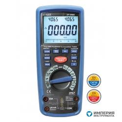 Измеритель сопротивления изоляции с True RMS мультиметром CEM(СЕМ) DT-9985