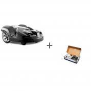 Газонокосилка-робот Husqvarna Automower 310 Connect Home + Комплект для установки газонокосилки-робота Малый в подарок!