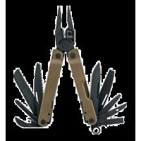 Мультитул Leatherman Rebar, 17 функций, нейлоновый чехол, коричневый
