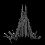 Мультитул Leatherman Wave Plus Black, 17 функций, нейлоновый чехол