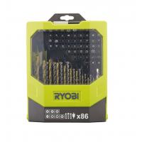 Набор сверл и бит 86 предметов Ryobi RAK86MiXC