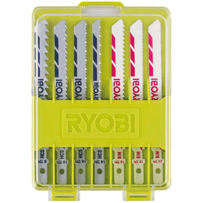 Набор полотен универсальных для лобзика Ryobi RAK10JSB