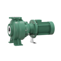 Насос для отвода сточных вод блочной конструкции со встроенным стандартным электродвигателем фекальный насос Wilo RexaBloc RE 10.44W-260DAH180M4
