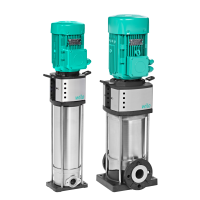 Вертикальный многоступенчатый насос Wilo Helix V 416-1/25/E/KS