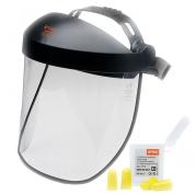 Оснащение для защиты лица с пластиковым щитком Stihl