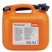Канистра для бензина Stihl 5 л, оранжевая