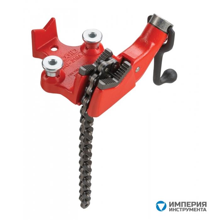 Тиски верстачные цепные с верхним винтом для пластиковых труб RIDGID BC210PA 1/2 - 2 7/8