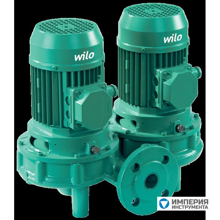 Циркуляционный насос с сухим ротором в исполнении Inline с фланцевым соединением Wilo VeroTwin-DPL 80/110-4/2
