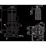 Циркуляционный насос с сухим ротором в исполнении Inline с фланцевым соединением Wilo CronoLine-IL 125/170-4/4