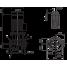 Циркуляционный насос с сухим ротором в исполнении Inline с фланцевым соединением Wilo CronoLine-IL 100/360-18,5/4