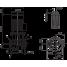 Циркуляционный насос с сухим ротором в исполнении Inline с фланцевым соединением Wilo CronoLine-IL 200/370-45/4
