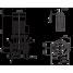 Циркуляционный насос с сухим ротором в исполнении Inline с фланцевым соединением Wilo CronoLine-IL 125/270-15/4