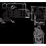 Циркуляционный насос с сухим ротором в исполнении Inline с фланцевым соединением Wilo VeroLine-IPL 40/80-0,09/4