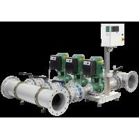 Высокоэффективная, автоматическая, готовая к подключению установка Wilo SiFlux 21-IP-E 40/160-4/2-SC-16-T4