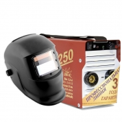 Инвертор сварочный ТОРУС-250 ЭКСТРА + маска Хамелеон