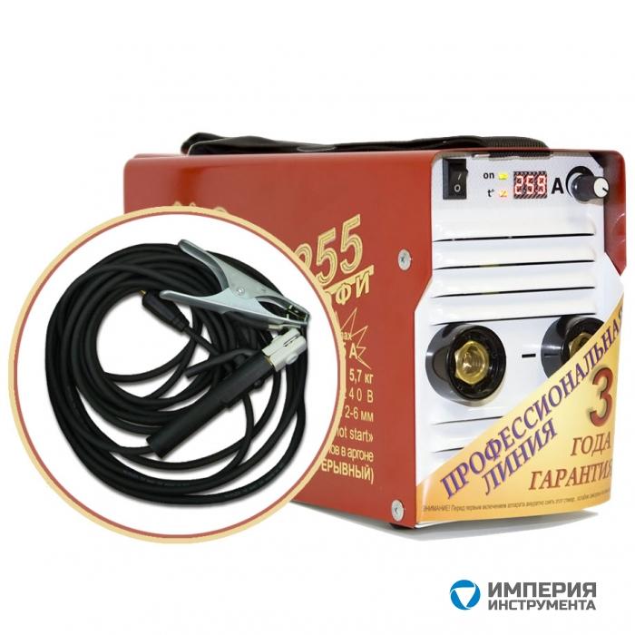 Инвертор сварочный ТОРУС-255 ПРОФИ + комплект сварочных проводов