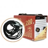 Инвертор сварочный ТОРУС-200 КЛАССИК (НАКС) + комплект сварочных проводов