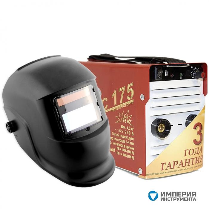 Инвертор сварочный ТОРУС-175 ТЕРМИНАТОР-2 + маска Хамелеон