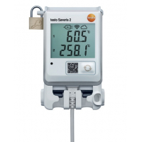 WiFi-логгер данных с дисплеем и двумя разъемами для подключения внешних термопар Testo Saveris 2-T3