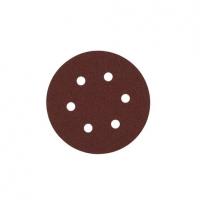 Шлифовальный круг Milwaukee 6 отверстий 150 мм/ зерно 180 (25шт)