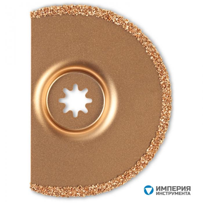 Сегментное пильное полотно с твердосплавным напылением Fein, 90 мм, 5 шт, 4 мм
