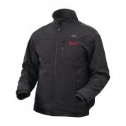 Куртка c электроподогревом Black Milwaukee M12 HJ-0 (XL) черная