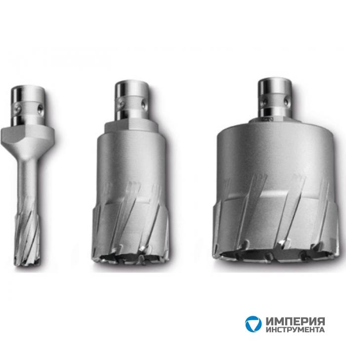 Корончатое сверло Fein HM Ultra с хвостовиком QuickIN, 40/75 мм