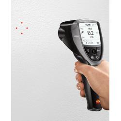Базовый ИК-термометр с 4-х точечным лазерным целеуказателем (оптика 50:1) Testo 835-T1