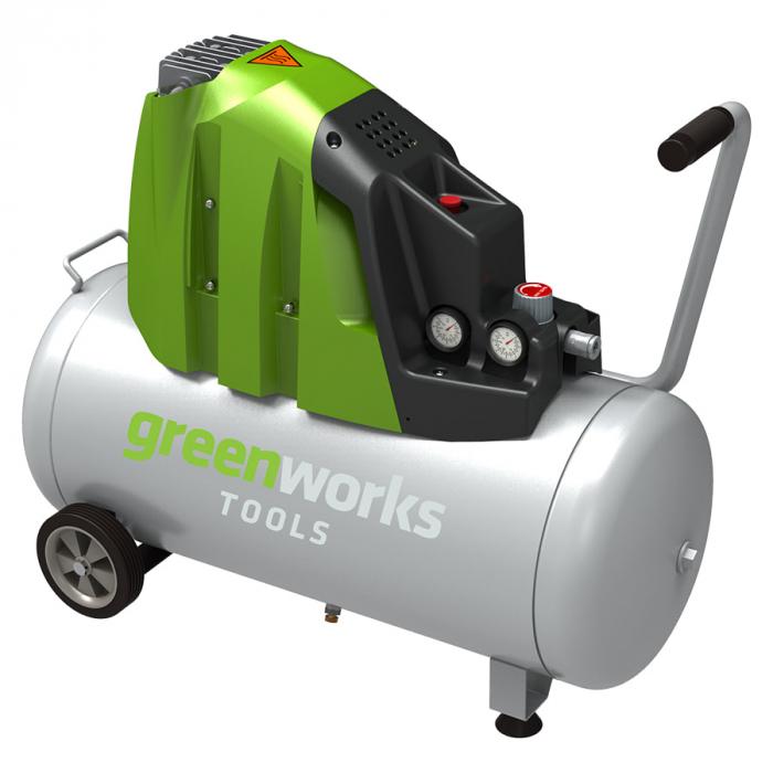 Компрессор электрический GREENWORKS GAC50L