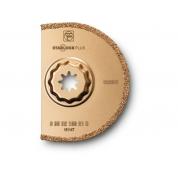 Сегментное пильное полотно с твердосплавным напылением Fein, 90 мм, 1 шт, 2.2 мм
