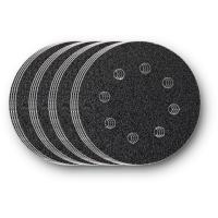 Набор дисков из абразивной шкурки Fein, зерно 60, 80, 120, 180, 16 шт, 115 мм