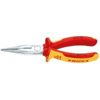 Плоские круглогубцы с режущими кромками KNIPEX KN-2506160
