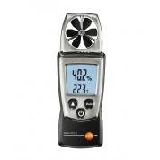 Карманный анемометр с крыльчаткой и сенсором влажности с поверкой Testo 410-2