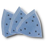 Комплект шлифовальных листов Fein, циркон, 12 шт