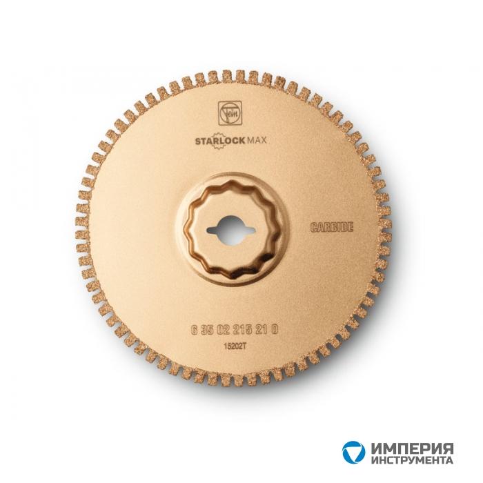 Твердосплавное пильное полотно Fein, рез 1,2 мм, 105 мм, 1 шт
