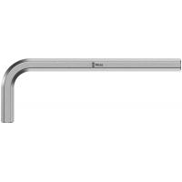 Ключ Г-образный 17 мм, метрический, хромированный WERA 950 021090