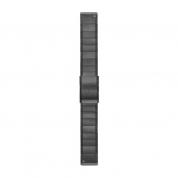 Ремешок сменный (сталь) серый Garmin QuickFit 22 мм