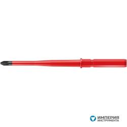 Сменная насадка диэлектрическая крестовая Pozidriv WERA Kraftform Kompakt 65 iS уменьшенный Ø стержня PZ 2 003456