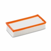 Фильтр плоский складчатый Karcher для пылесосов NT 35/1, 45/1, 360, 361
