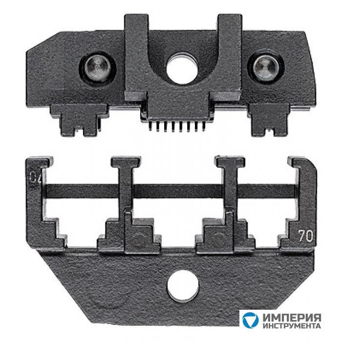 Плашка опрессовочная для штекера типа Western KNIPEX KN-974970