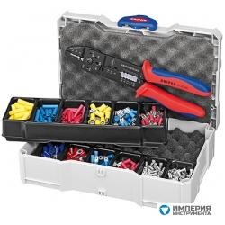 Набор кабельных наконечников для опрессовки KNIPEX KN-979025