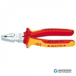 Плоскогубцы комбинированные особой мощности KNIPEX KN-0206200