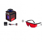 Нивелир лазерный ADA CUBE 360 PROFESSIONAL EDITION + очки лазерныеADA Laser Glasses в подарок!